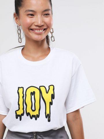 טי שירט לונגליין Joy