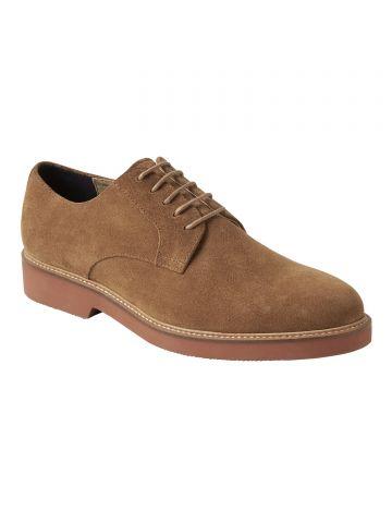 נעלי אוקספורד זמש / גברים