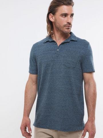 חולצת פולו עם כיס