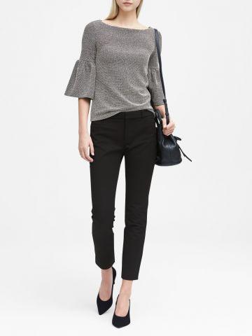 מכנסי סקיני מחויטים Sloan Skinny-Fit / נשים