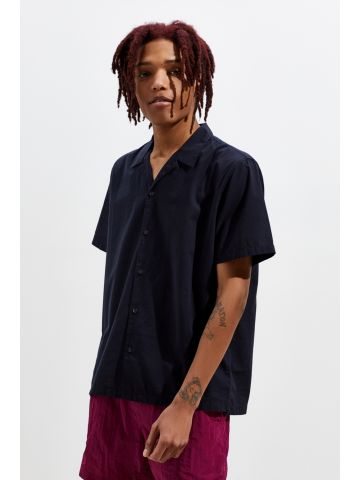 חולצה מכופתרת קצרה UO