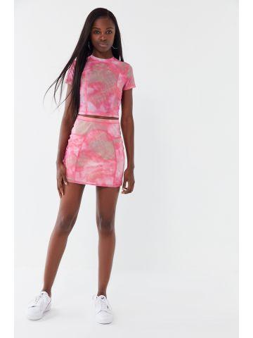 חצאית מיני טאי דאי UO