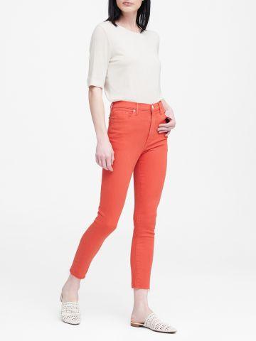 ג'ינס סקיני בגזרה גבוהה High-Rise Skinny / נשים
