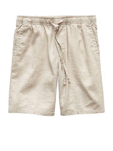מכנסי פשתן קצרים / גברים