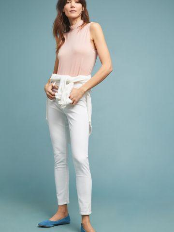 ג'ינס סקיני בגזרה גבוהה AG Jeans