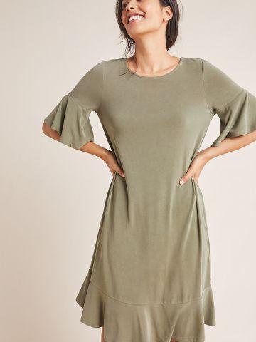שמלת טי שירט מיני מלמלה