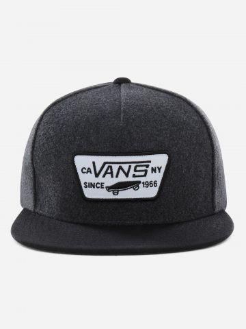 כובע מצחייה שני צבעים עם פאץ' לוגו / גברים