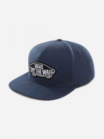 כובע מצחייה עם פאץ' לוגו / גברים