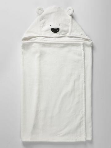 מגבת גוף מעטפת דובי / בייבי