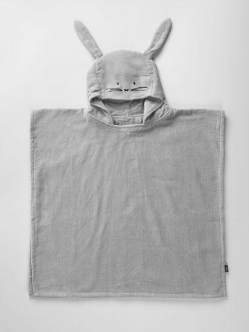 מגבת גוף פונצ'ו ארנבון / בייבי