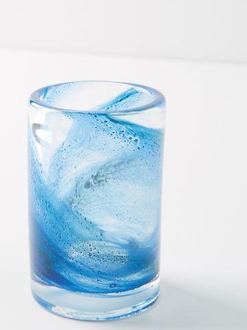 כוס למברשת שיניים מזכוכית צבעונית Misty