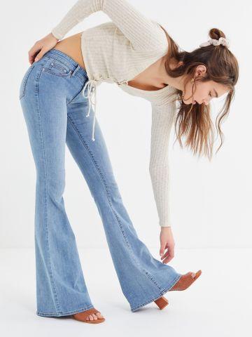 ג'ינס מתרחב בגזרה נמוכה UO Reese