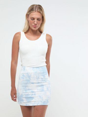 חצאית מיני טאי דאי