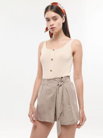 מכנסי חצאית בסגנון מעטפת