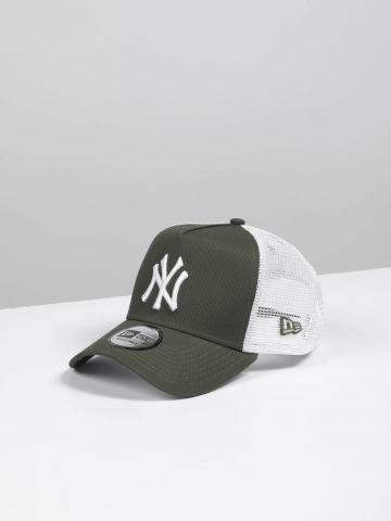 כובע מצחייה רשת קולור בלוק יאנקיז A-Frame