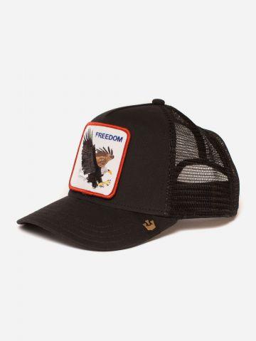 כובע מצחיה עם פאץ' נשר Freedom של GOORIN BROS