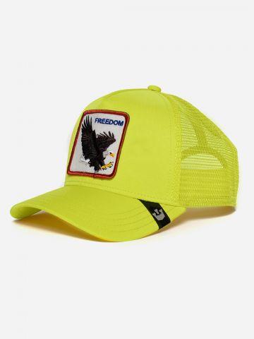 כובע מצחיה עם פאץ' נשר / גברים של GOORIN BROS
