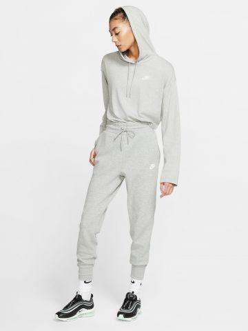 מכנסי טרנינג מלאנז' עם לוגו Tech Fleece