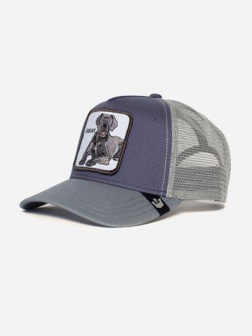 כובע מצחיה עם פאץ' כלב Great / גברים