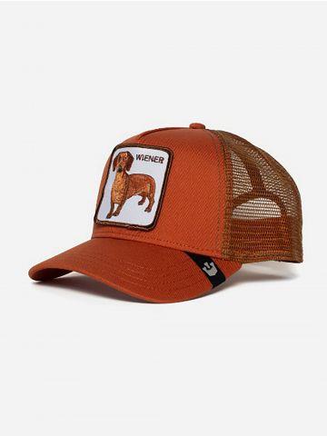 כובע מצחייה עם פאץ' כלב Wiener / גברים