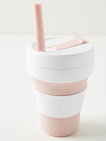 כוס מתקפלת לשתייה חמה Stojo