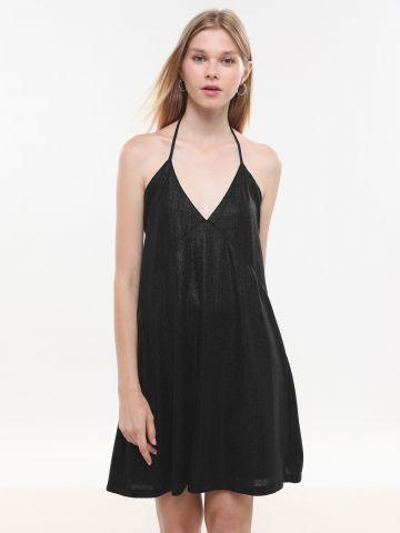 שמלת קולר מיני גליטר X נטע אפרתי של YANGA