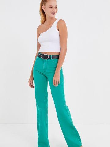 ג'ינס גבוה בגזרה מתרחבת BDG