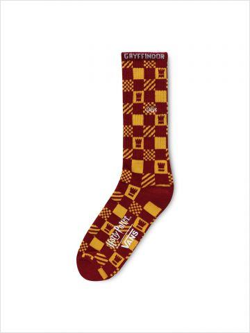 גרביים גבוהים בהדפס משבצות Vans X Harry Potter / גברים
