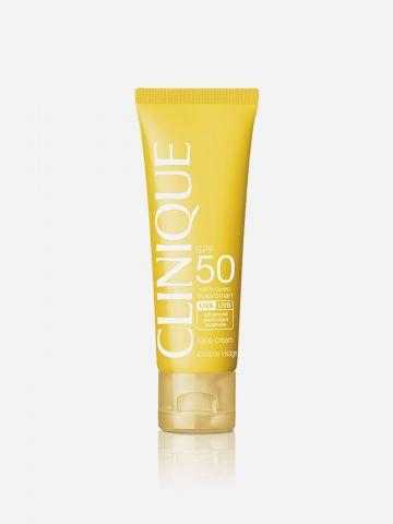 קרם פנים להגנה מנזקי בשמש Clinique Sun SPF 50