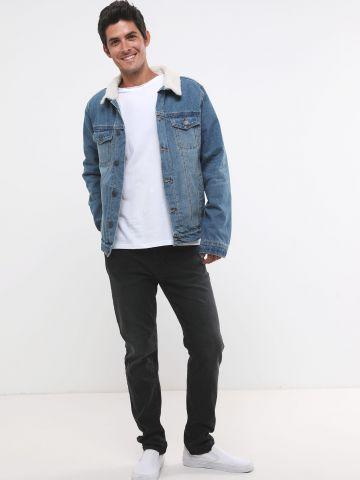 ג'ינס Slim ווש ארוך
