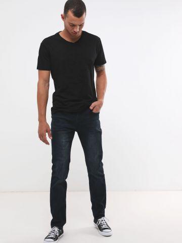 ג'ינס סלים-פיט ווש