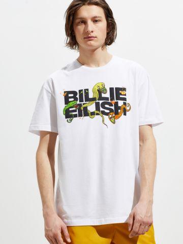 טי שירט עם הדפס UO Billie Eilish
