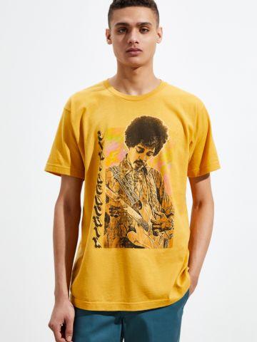 טי שירט עם הדפס Jimi Hendrix UO
