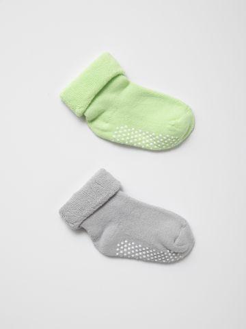 מארז 2 זוגות גרביים / 0-1Y