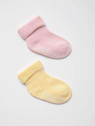 מארז 2 זוגות גרביים / 0-1Y של TERMINAL X KIDS