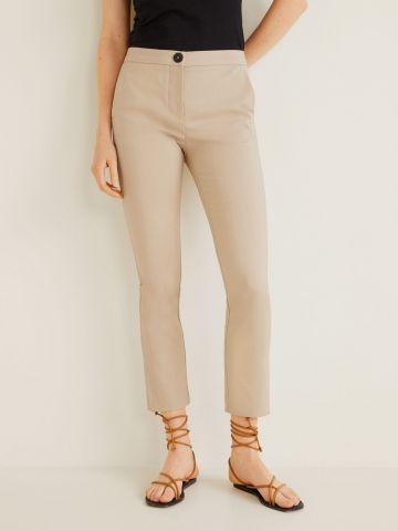 מכנסיים ארוכים בגזרה ישרה