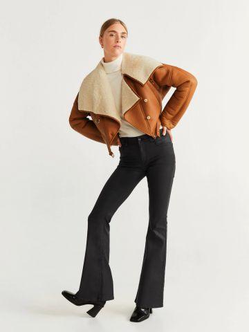 ג'ינס ארוך בגזרה מתרחבת / נשים