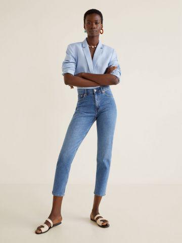 ג'ינס MOM בגזרת סלים