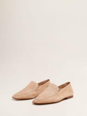 נעלי מוקסין עור / נשים