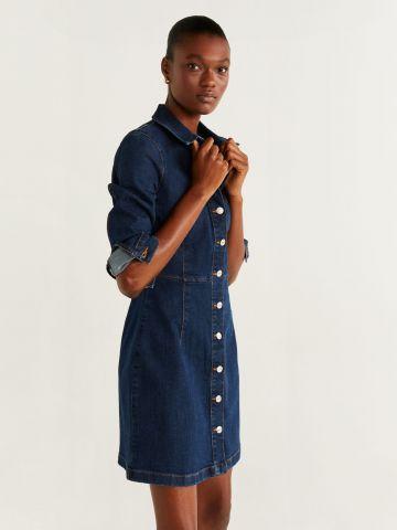 שמלת ג'ינס מכופתרת / נשים