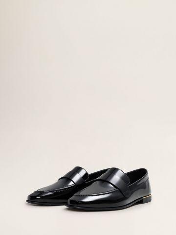 נעלי מוקסין מבריקות