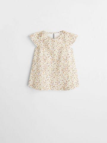 שמלה בהדפס חברבורות / בייבי בנות