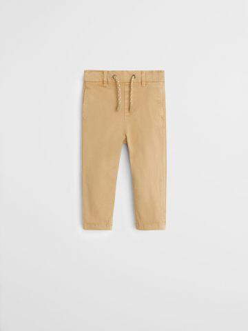 מכנסיים ארוכים עם גומי במותן / בייבי בנים