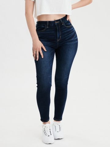 ג'ינס Curvy בגזרה גבוהה High Rise Jegging