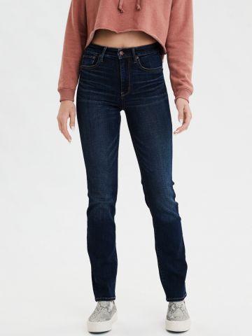 ג'ינס Slim Straight בשטיפה כהה