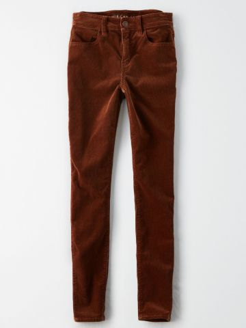 ג'ינס קורדורוי סקיני / נשים של AMERICAN EAGLE