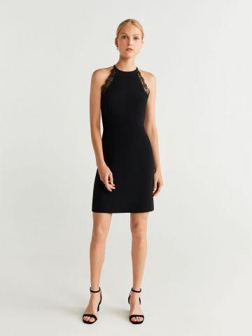 שמלת מיני ריב ללא שרוולים
