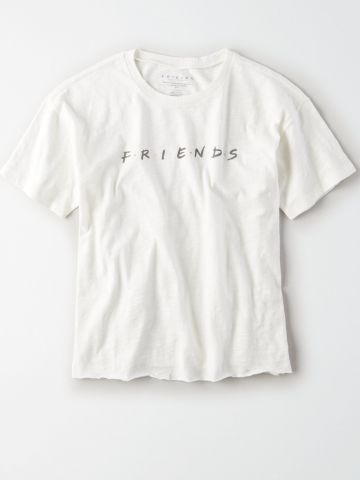 טי שירט עם הדפס Friends / נשים