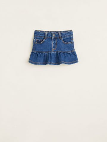 חצאית ג'ינס מלמלה / 9M-4Y