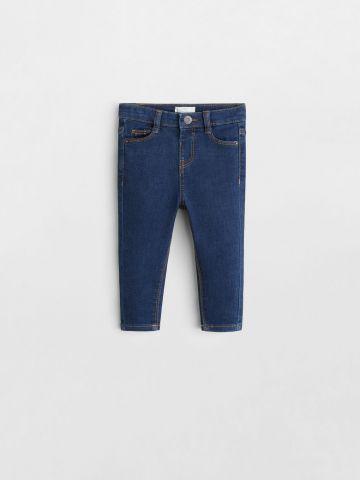 ג'ינס סקיני עם כיסים / 9M-4Y